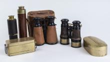 Miscellaneous Group of Binoculars and Scopes
