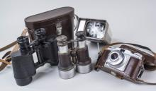 Two Pairs of Binoculars