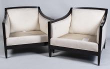 Pair of Baker Lounge Chairs
