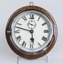 Chrome Ship's Clock