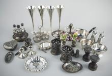 Miscellaneous Group of Silver Table Articles