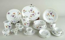Royal Worcester Porcelain Dinner Service