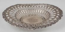 Whiting Sterling Silver Bread Basket