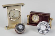 Group of Desk Clocks