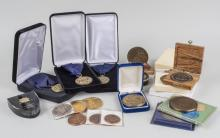Group of Jewish Commemorative Medals