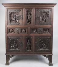 Renaissance Revival Style Court Cupboard
