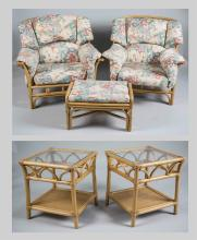 Five Piece Rattan Furniture Suite