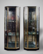 Pair of Vitrine Cabinets