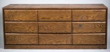 Contemporary Style Triple Dresser