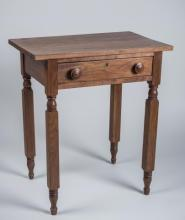 American Fruitwood Side Table