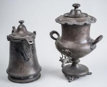 Two Silver Plated Articles