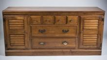 Contemporary Fruitwood Dresser