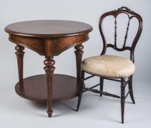 Circular Table & Chair