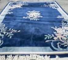 Ninety Line Chinese Carved Carpet
