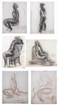 Six by Sam Granovsky (Rus/Fr, 1889-1942)