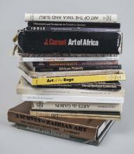 Lot of African and Tribal Arts Books