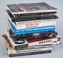 Lot of Native American Art Books