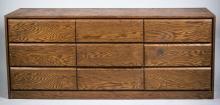 Contemporary Style Triple Dresser