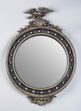 Regency Style Bull's Eye Mirror