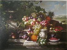 Still Life with fruit.