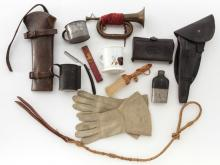 Lot of late 19th C. Military & Personal Items
