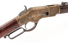 Eng'd & Inscribed Winchester Model 1866 LA Musket