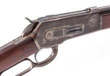 Antique Winchester Model 1886 Lever Action Rifle