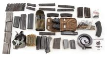 Lot of Rifle and Pistol Magazines