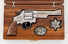 Robt. Squires Comm. S&W Model 29-3 Double Action Revolver