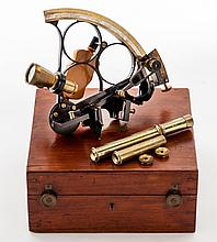 Early 20th C. English Marine Sextant