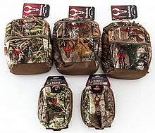 Lot of 5 Badlands Camouflage Pouches