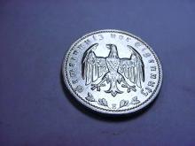 1937 E GERMAN 1 REICHSMARK