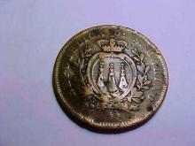 1875 SAN MARINO 10 CENTESIMI