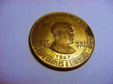 1927 LINDBERGH MEDAL