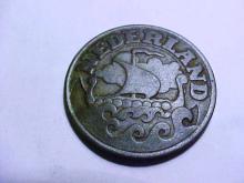 1941 NETHERLANDS 25 CENTS