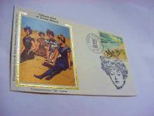 1986 GIBSON GIRLS AT JONES BEACH SILK CACHET COVER