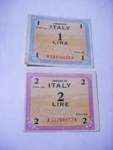 [2] 1943 ITALY MILITARY PAYMENT CERTIFICATES