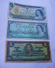 CANADA BANKNOTE LOT