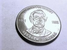 ABRAHAM LINCOLN MEDAL UNC