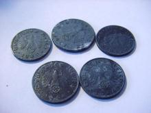 [5] NAZI GERMAN COINS