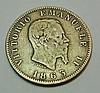 1863 M BN ITALY 1 LIRE