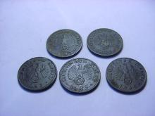 [5] NAZI GERMAN COINS