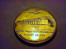 1969 PHILADELPHIA MINT BRONZE MEDAL GEM B.U.