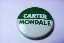 CARTER CAMPAIGN BUTTON