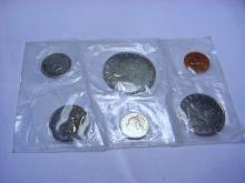 1968 LIBERIA COIN SET