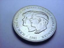 1981 PRINCE CHARLES LADY DIANA WEDDING CROWN