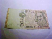 1987 ITALY 1000 LIRE BANKNOTE