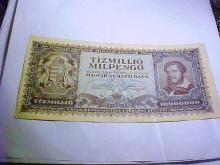 1946 HUNGARY 10 MILLION PENGO BANKNOTE