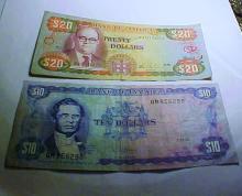 JAMAICA BANKNOTE LOT