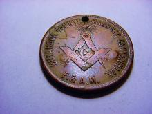 1912 MASONIC MEDAL NAMED